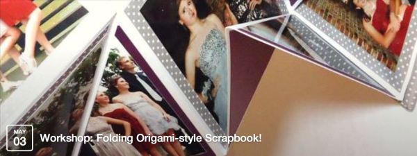 Folding Origami-style Scrapbook!