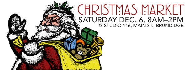 Our 2nd Annual Christmas Market is this Saturday, December 6th, from 8am-2pm!